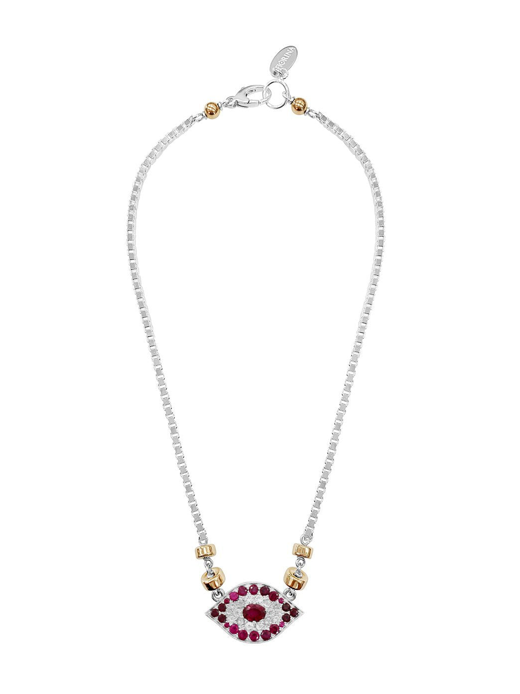 Fiorina Jewellery Oracle Necklace Ruby