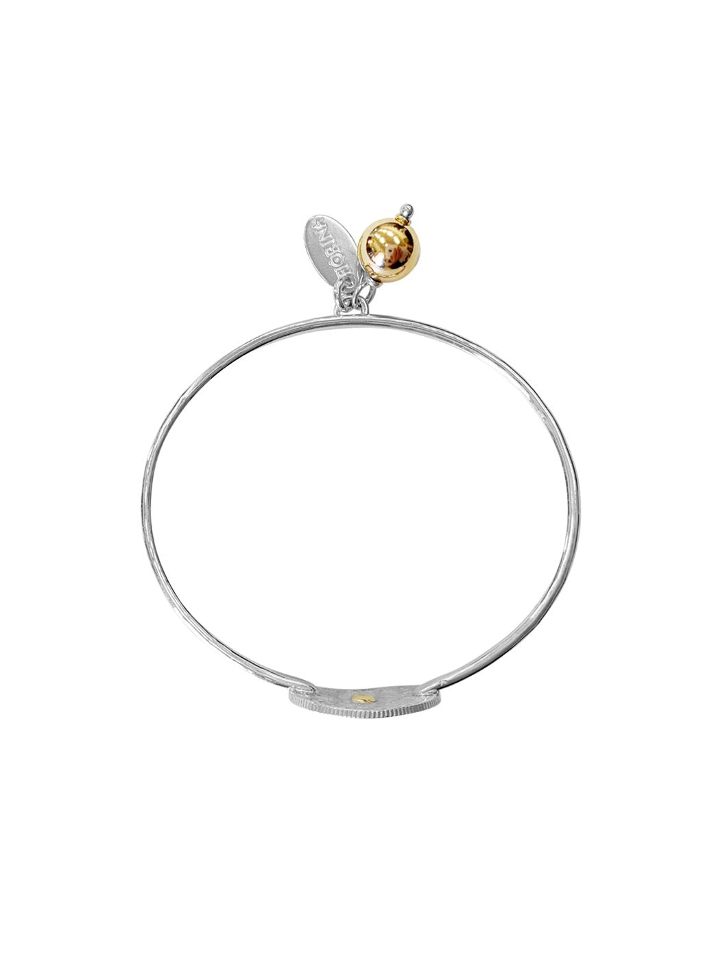 Fiorina Jewellery PNG Faith Bangle Top View
