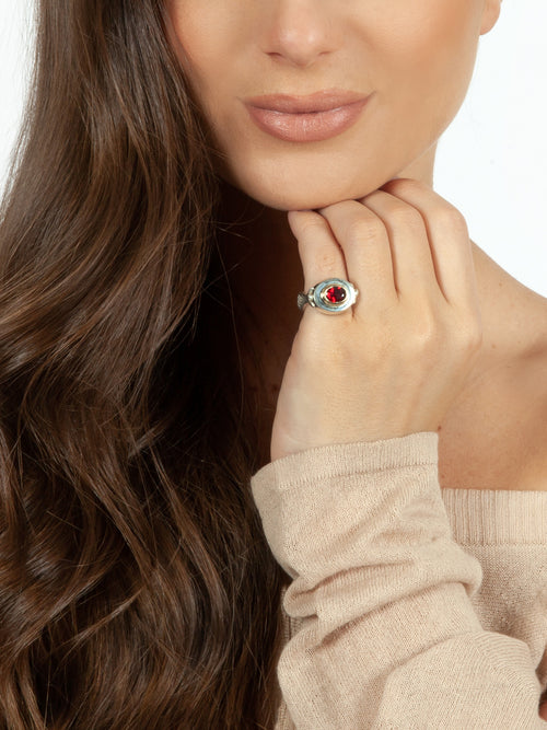 Fiorina Jewellery Palais Ring Ruby