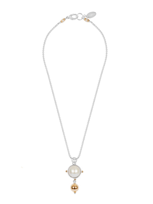 Venus Pearl Drop Necklace