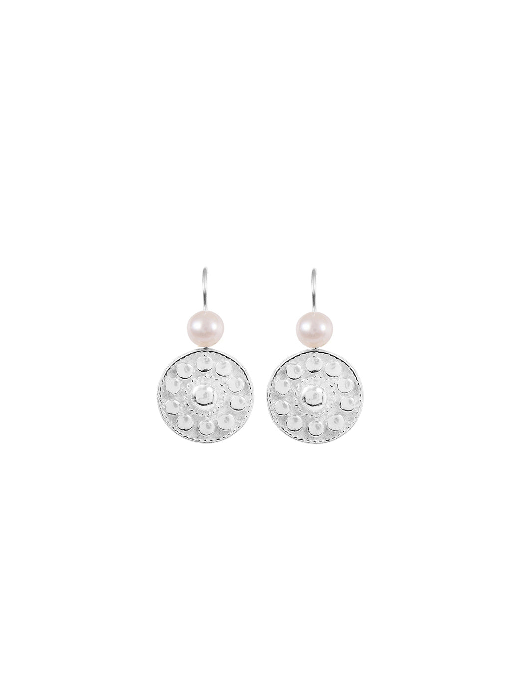 Fiorina Jewellery Logo Earrings Pearl Highlights