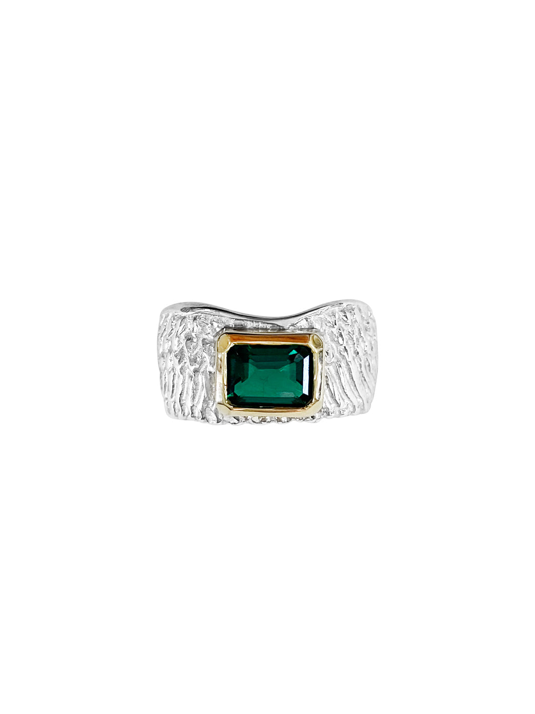 Fiorina Jewellery Reuben Ring Emerald