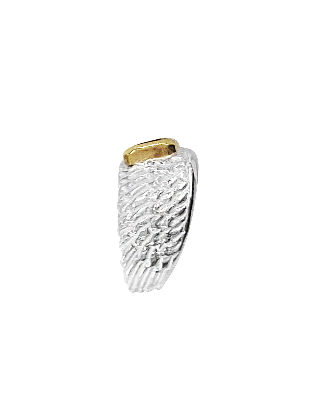 Fiorina Jewellery Reuben Ring Emerald Shank View