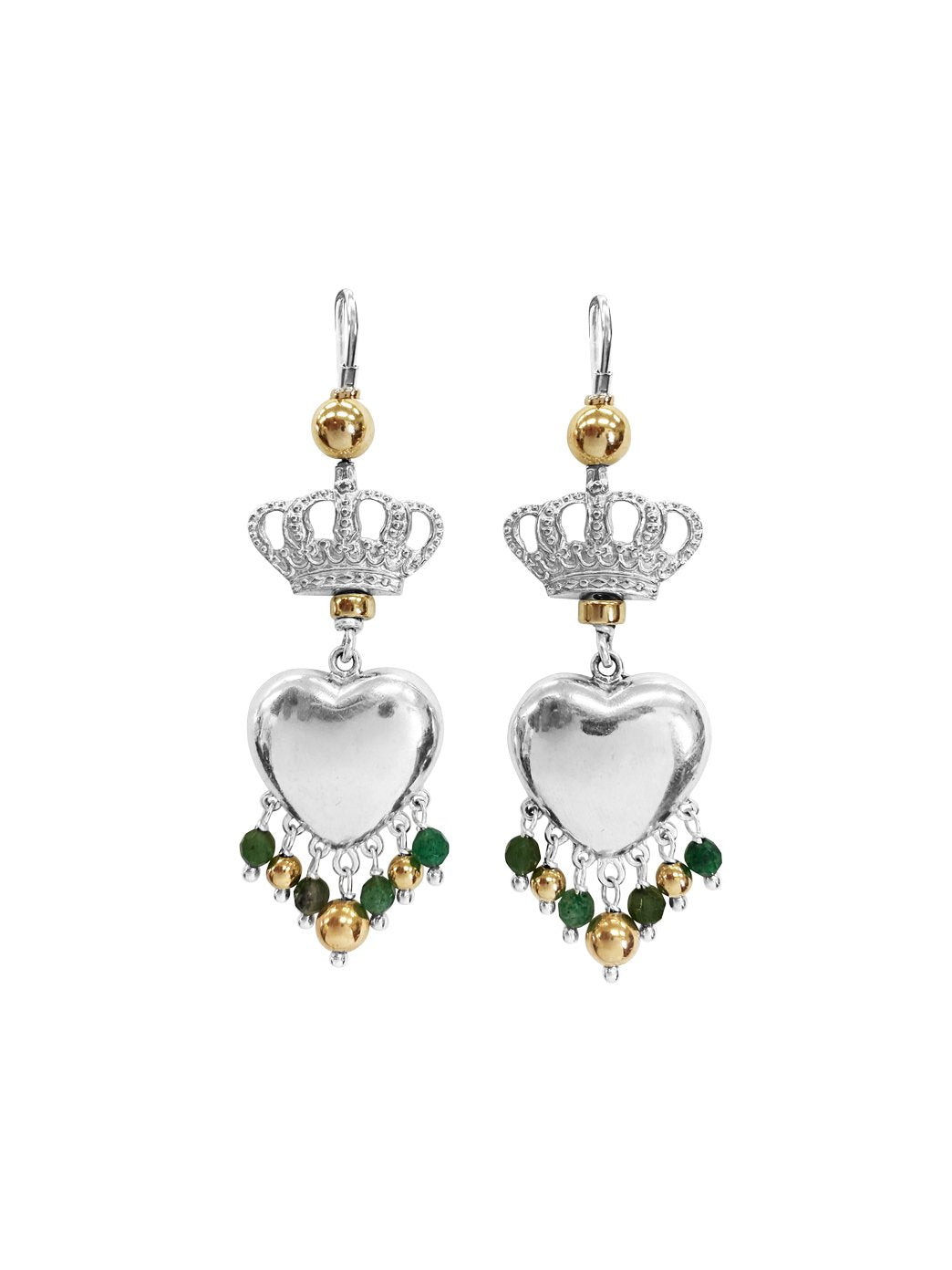 Fiorina Jewellery Royal Valentina Emerald Earrings
