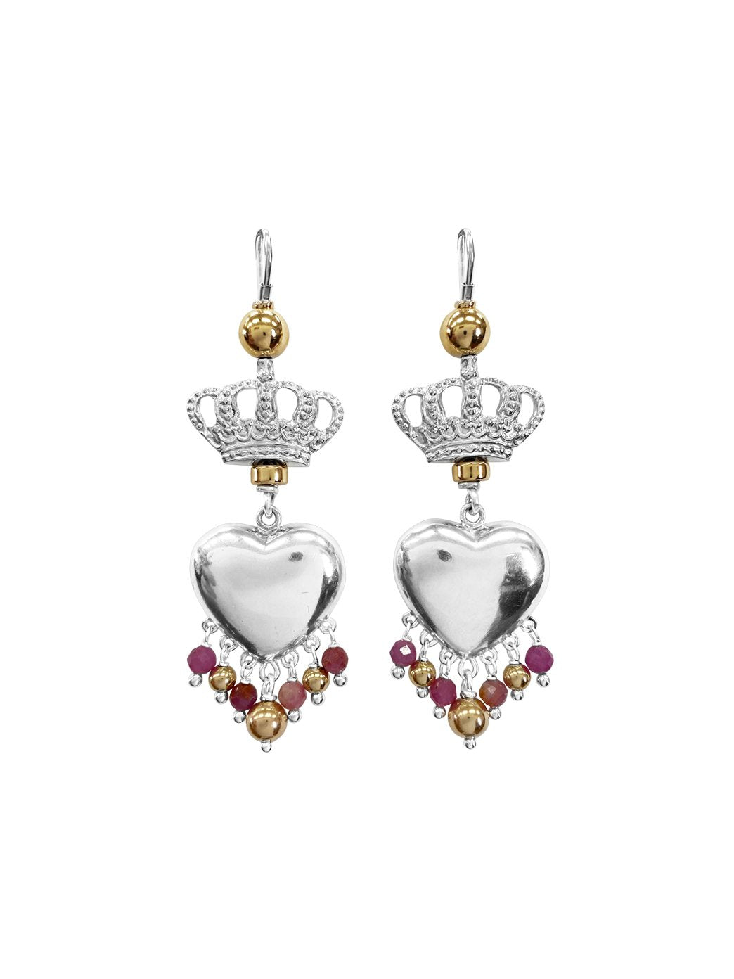 Fiorina Jewellery Royal Valentina Ruby Earrings