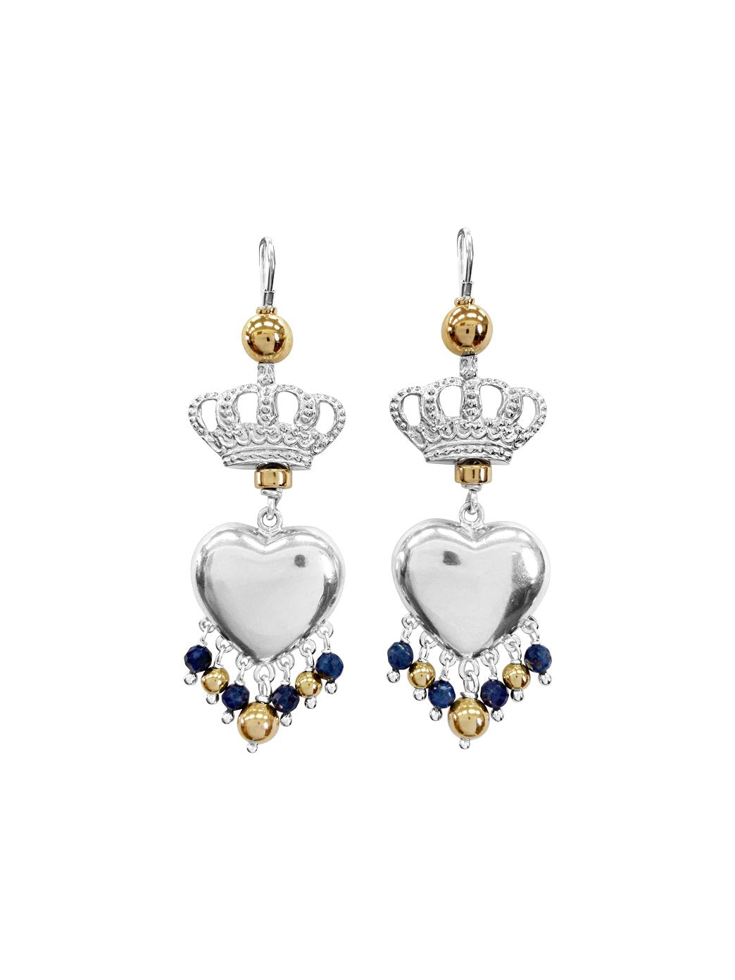 Fiorina Jewellery Royal Valentina Earrings Blue Sapphire