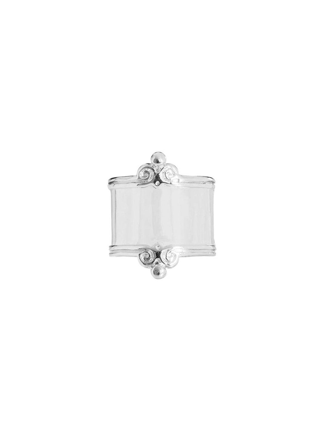 Fiorina Jewellery Scroll Ring Plain