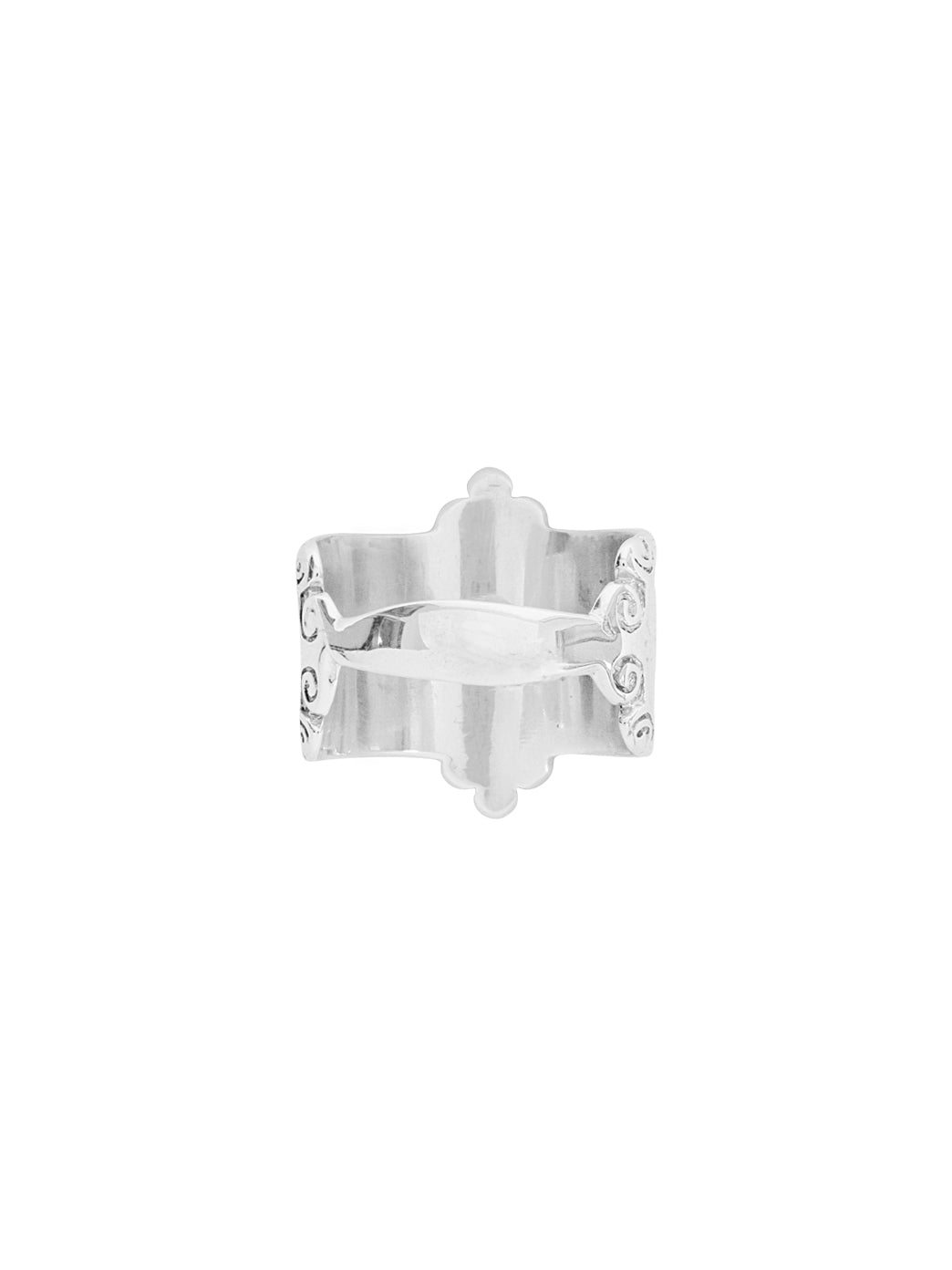 Fiorina Jewellery Scroll Ring Shank View