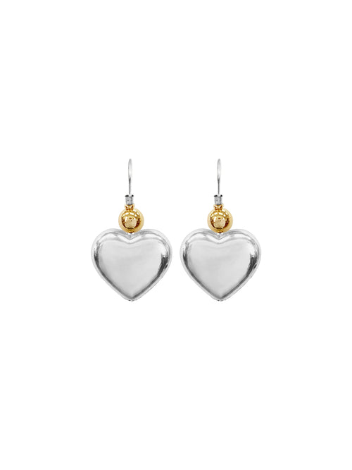 Fiorina Jewellery Simple Heart Earrings