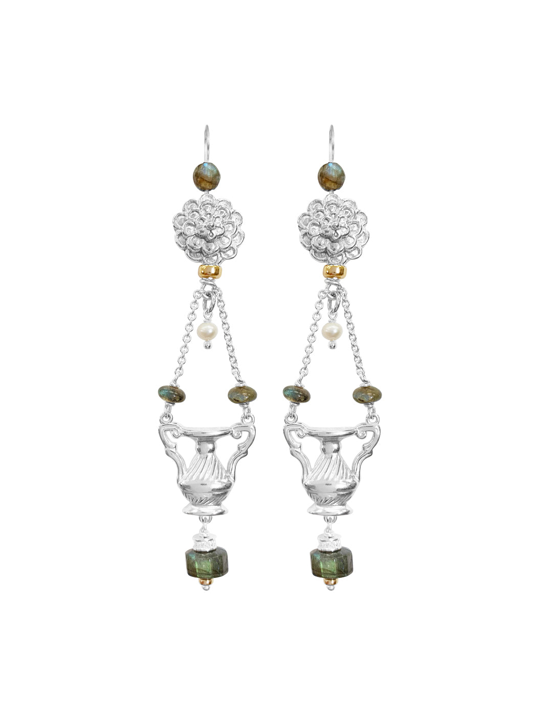 Fiorina Jewellery The Como Earrings Labradorite