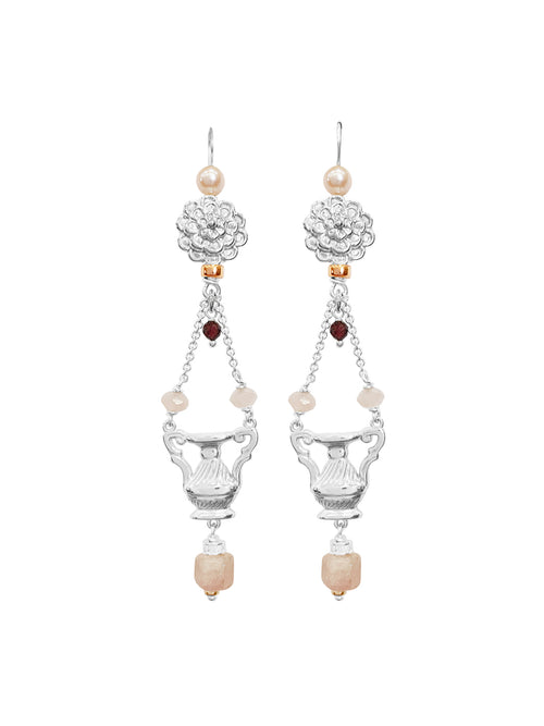 Fiorina Jewellery The Como Earrings Morganite