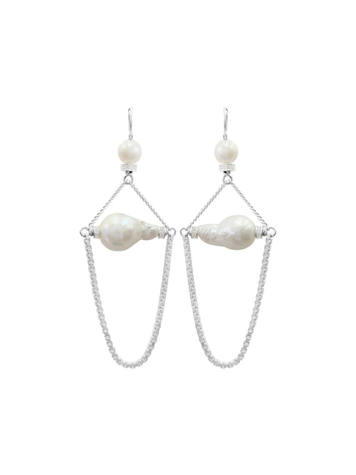 Fiorina Jewellery Venus Pearl Earrings