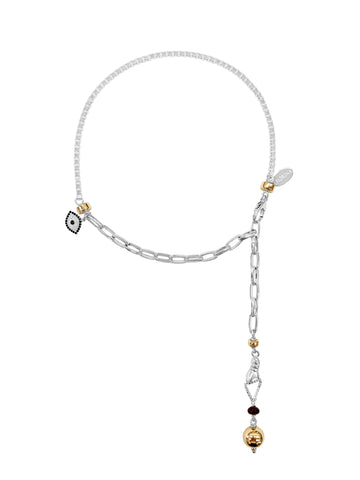 Elite Manifest Bar Necklace