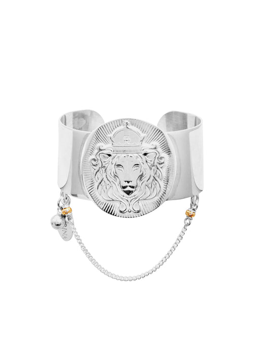 Fiorina Jewellery Watch Me Cuff Lion