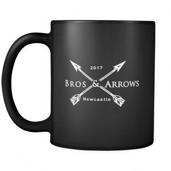Black Original Arrows Mug
