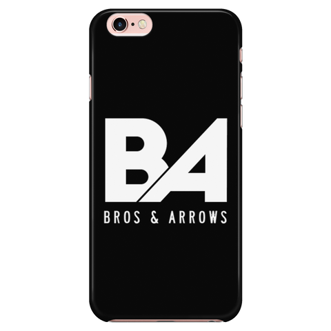 Black iPhone 7/7s Simple Logo Case