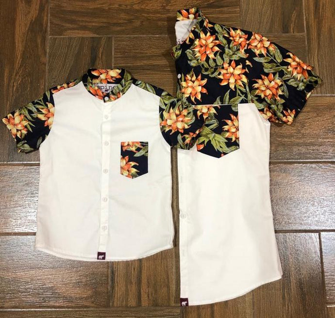 2Tone Tropical Kid Shirt