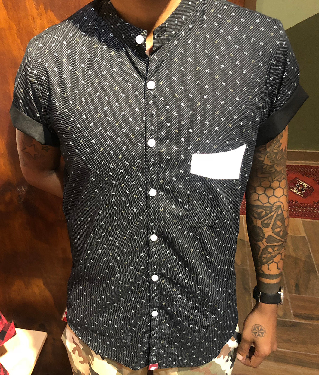 Black Anchor Shirt