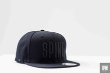 Caps Locked Snapback Black