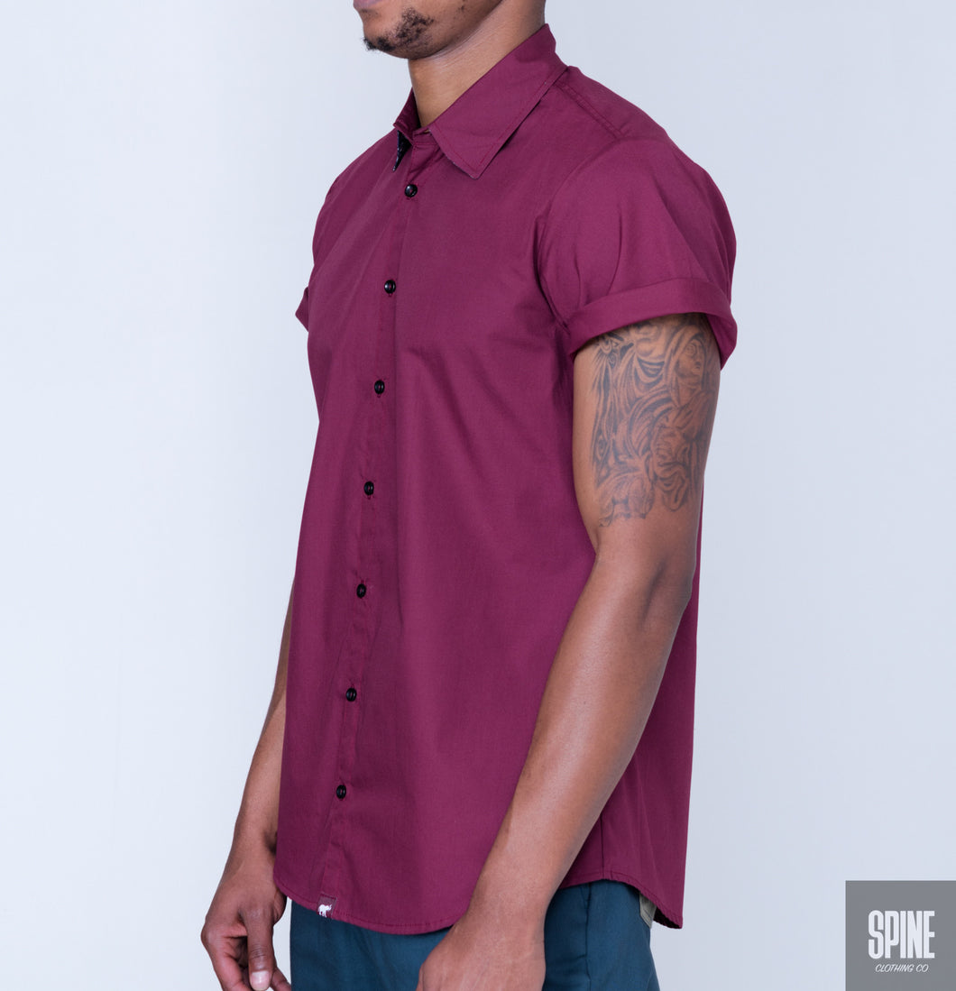 Burgandy Shirt