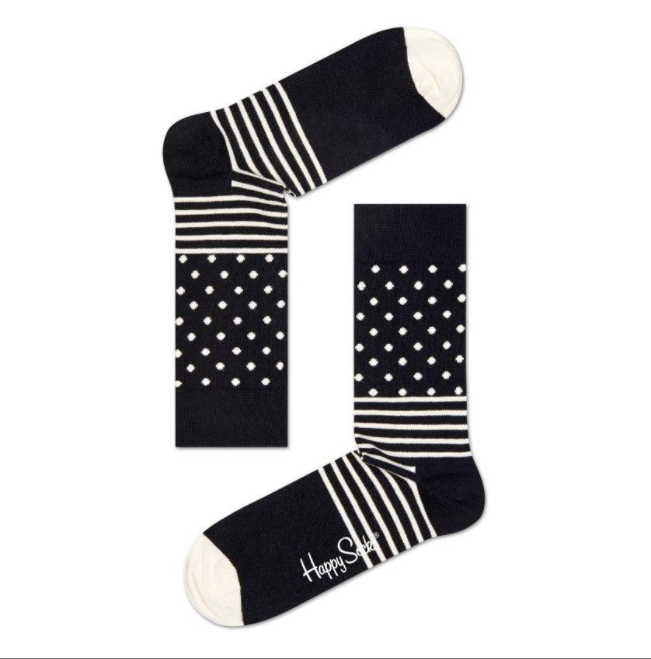Stripe Dot Sock