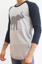 Grey Eye Baseball Tee