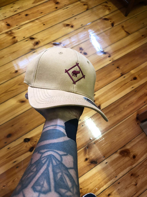 Cross Tan Baseball cap