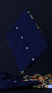 2Tone Sunflower+Navy Shirt
