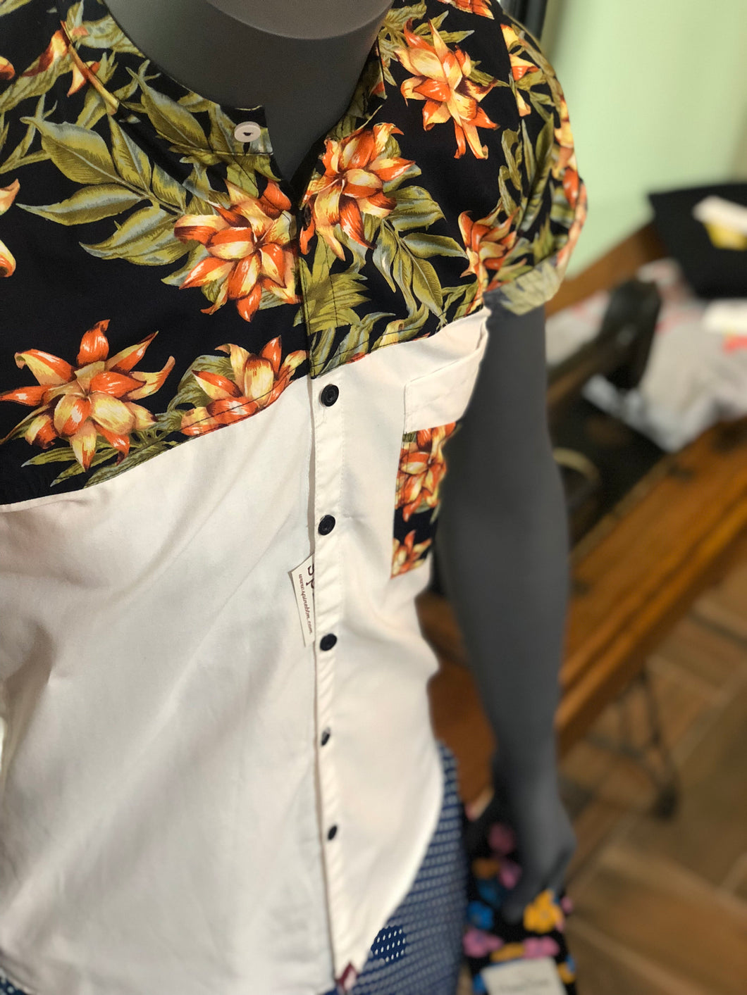 2Tone Tropical Shirt
