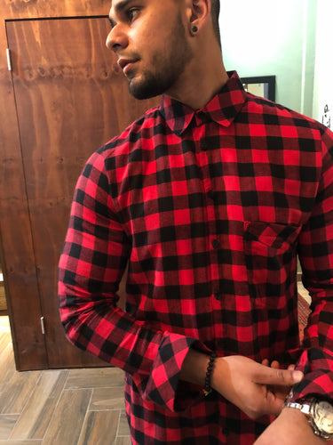 Red Flannel L/S Shirt