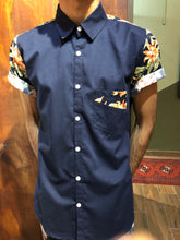 Navy Tropical Shirt