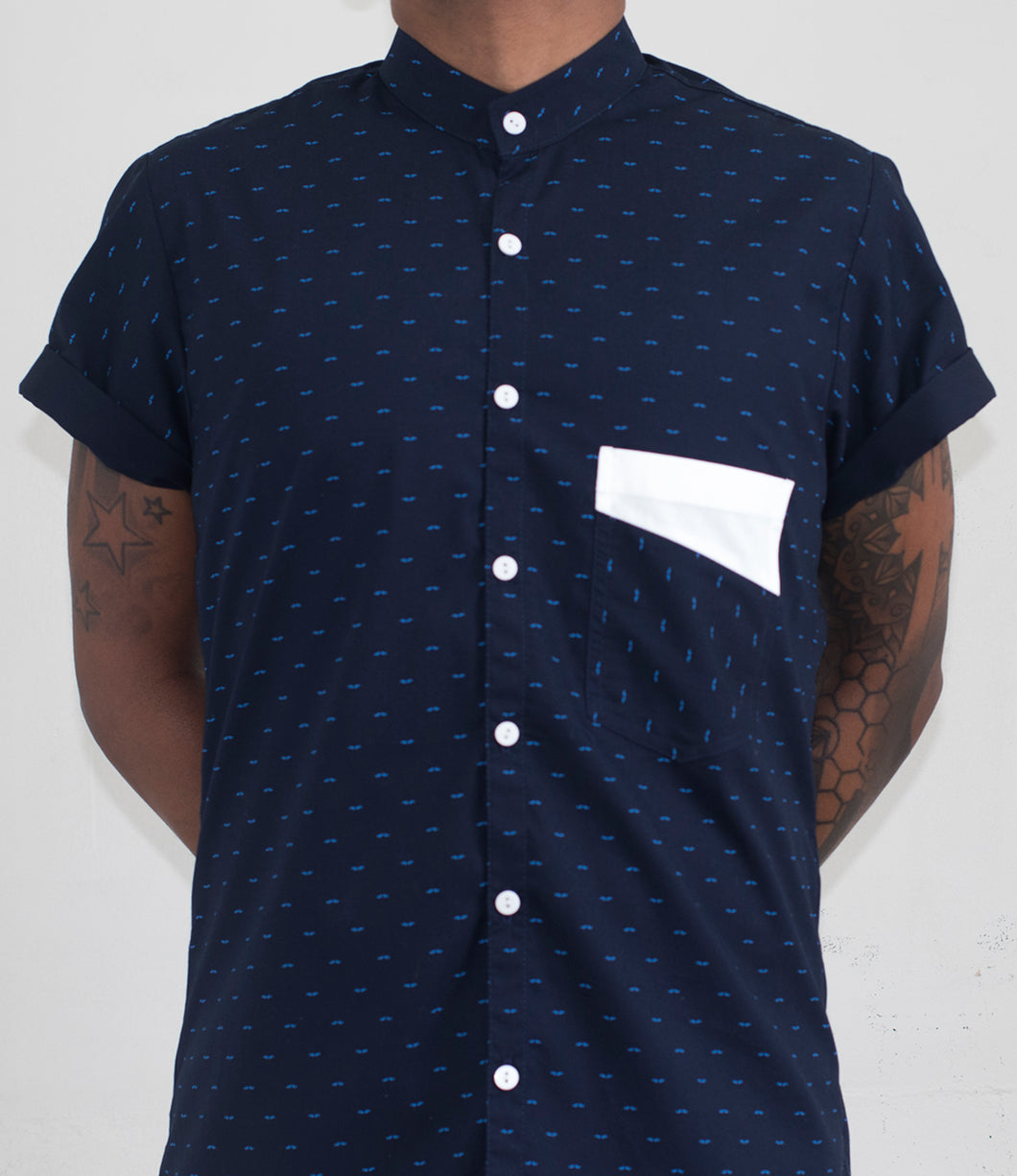 Navy Stash Shirt