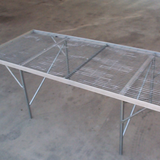 Free Standing Bench (Expanded Metal Top)