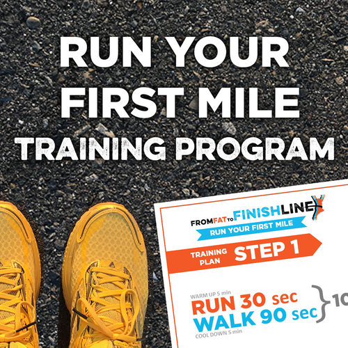 Run Your First Mile Training Program