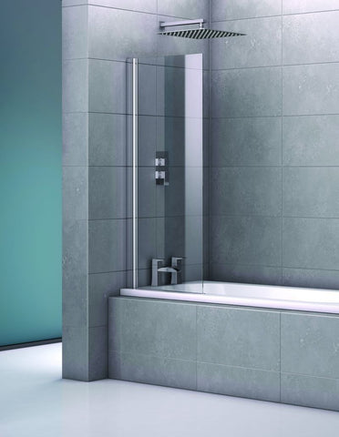 Fortuna Frameless Single Bath Screen