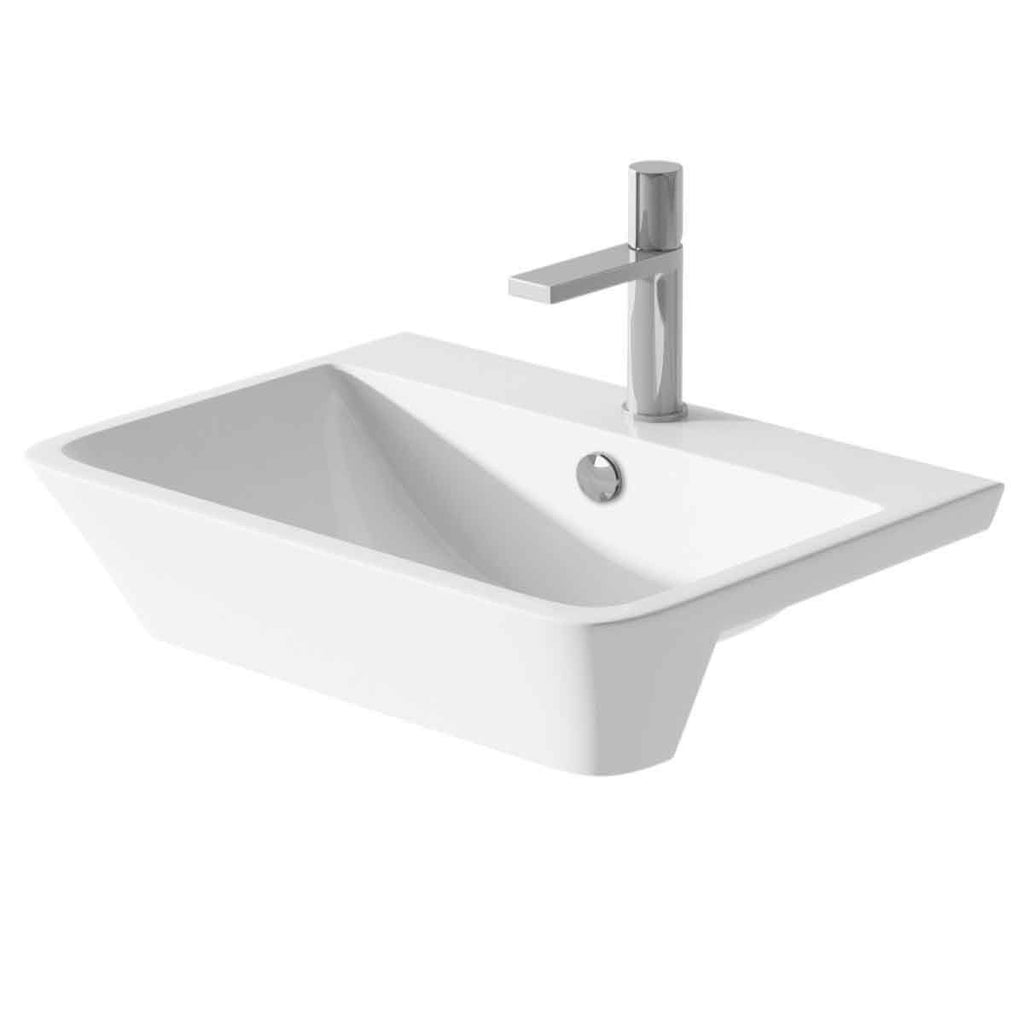 Grande Semi Recessed Basin-C