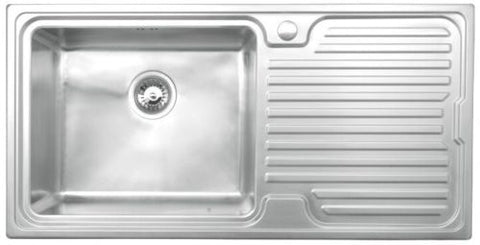 Avon 1.0 Bowl Stainless Steel Kitchen Sink R/H