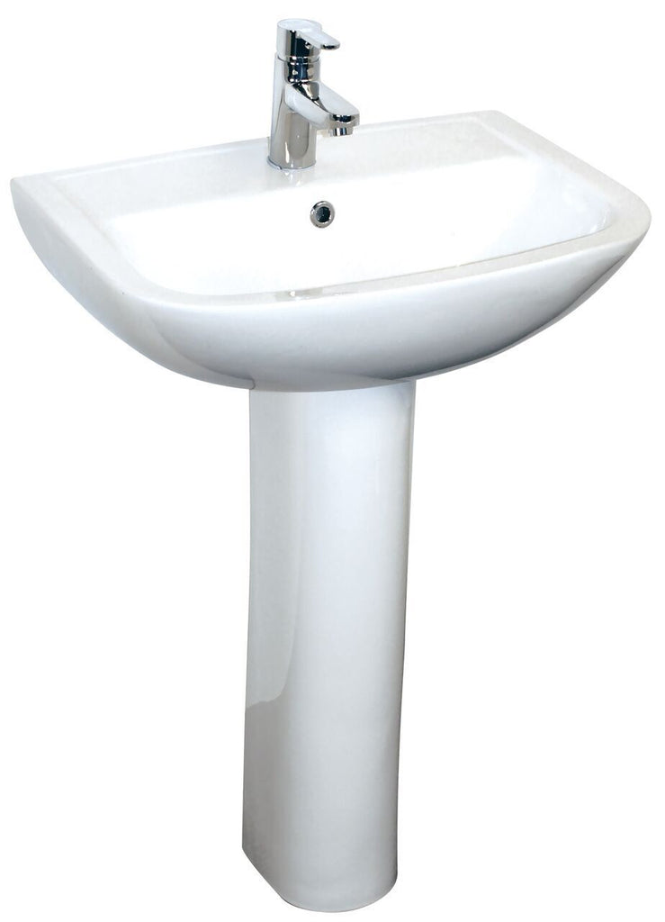 Baxter 55cm Basin and Pedestal