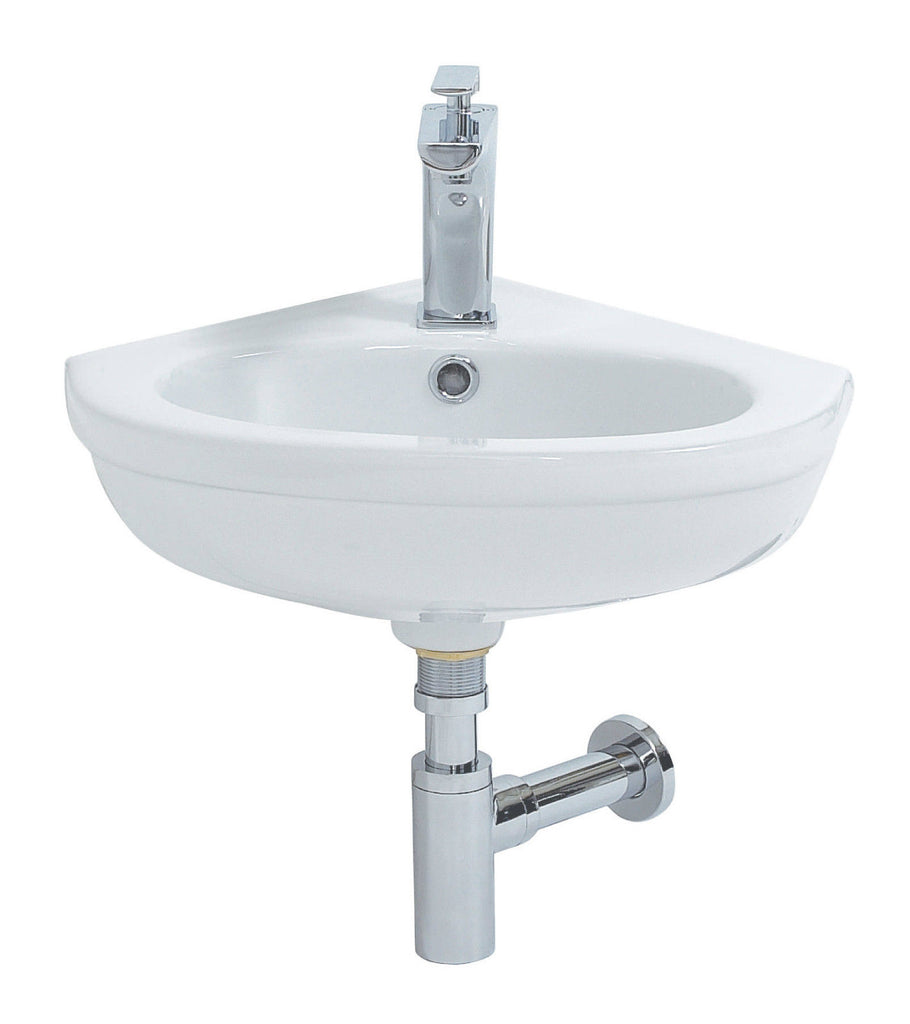 Emma Wall Hung Corner Basin 460mm EM037