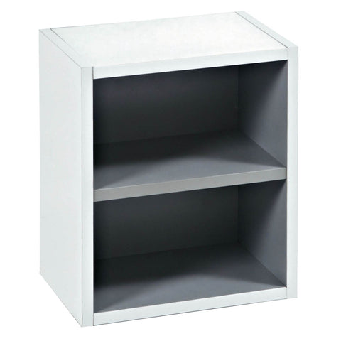 350mm Open Storage Unit White Bathroom Vanity UN049