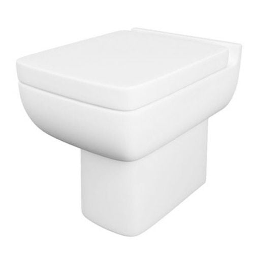 Avenue 600 BTW WC Pan and Soft Close Seat - K