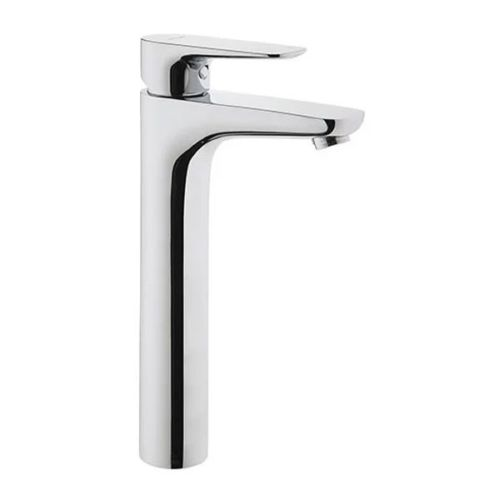 Vitra X-Line Tall Basin Mixer Tap In Chrome With Pop Up Waste
