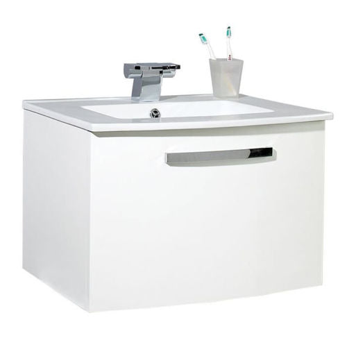 800mm Wall Hung Unit And Basin - FB002 Bathroom Vanity Storage