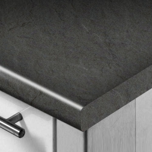 WilsonArt Grey Slate Extra Matt Worktop/Breakfast Bar/Upstand 3mm Profile