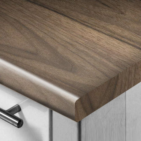 WilsonArt Knotty Romantic Walnut Worktop/Breakfast Bar/Upstand 3mm Profile