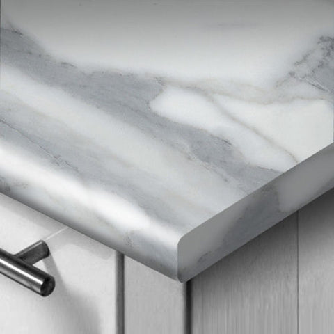 WilsonArt Marble Veneto Worktop/Breakfast Bar/Upstand 3mm Profile