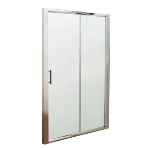 1000mm or 1200mm Sliding Shower Door 6mm Glass Bathroom
