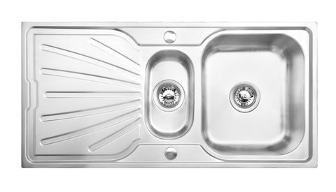 Tamar 1.5 Bowl Stainless Steel Kitchen Sink Deep Bowl