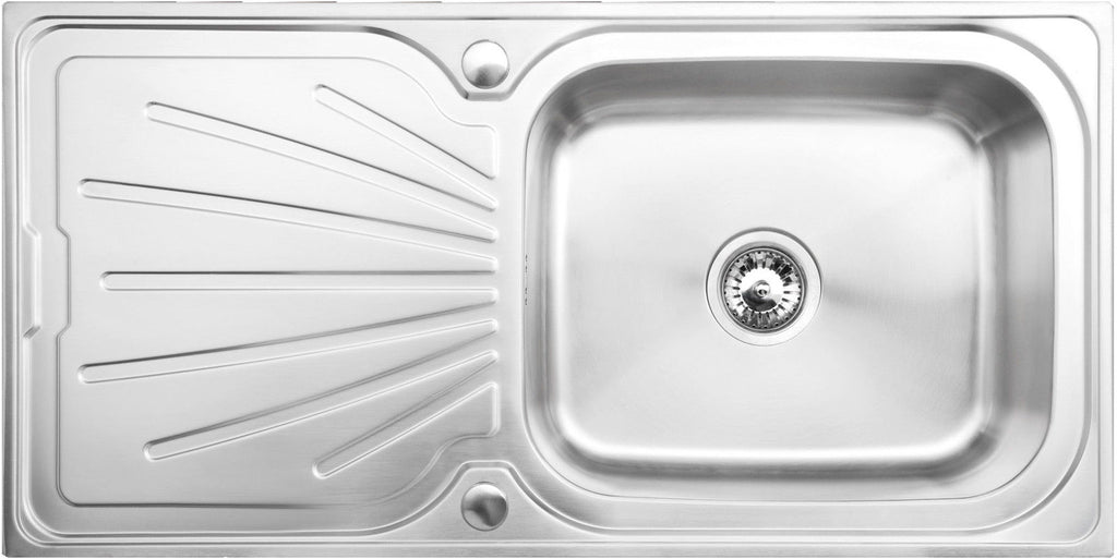 Tamar 1.0 Bowl Stainless Steel Kitchen Sink Deep Bowl