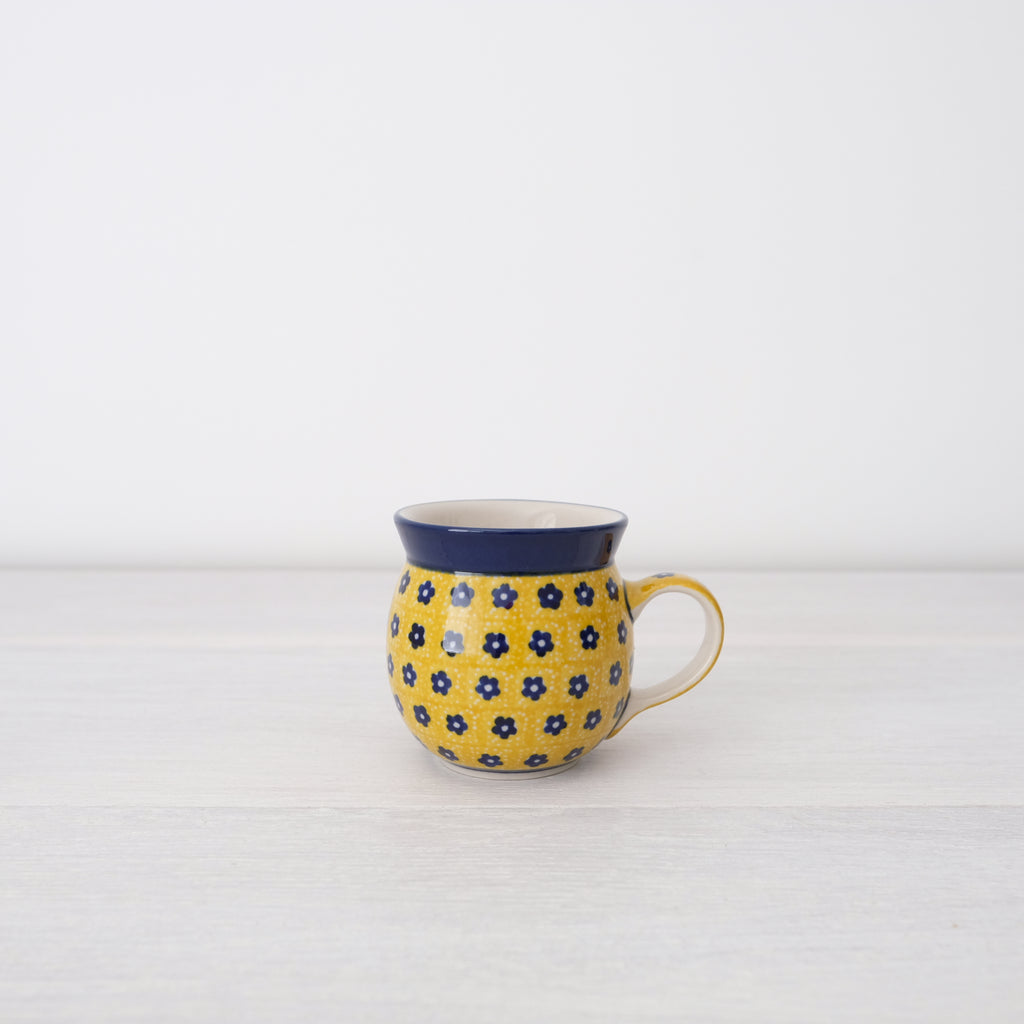 Unique Yellow Stoneware Mug | Art Of Pottery